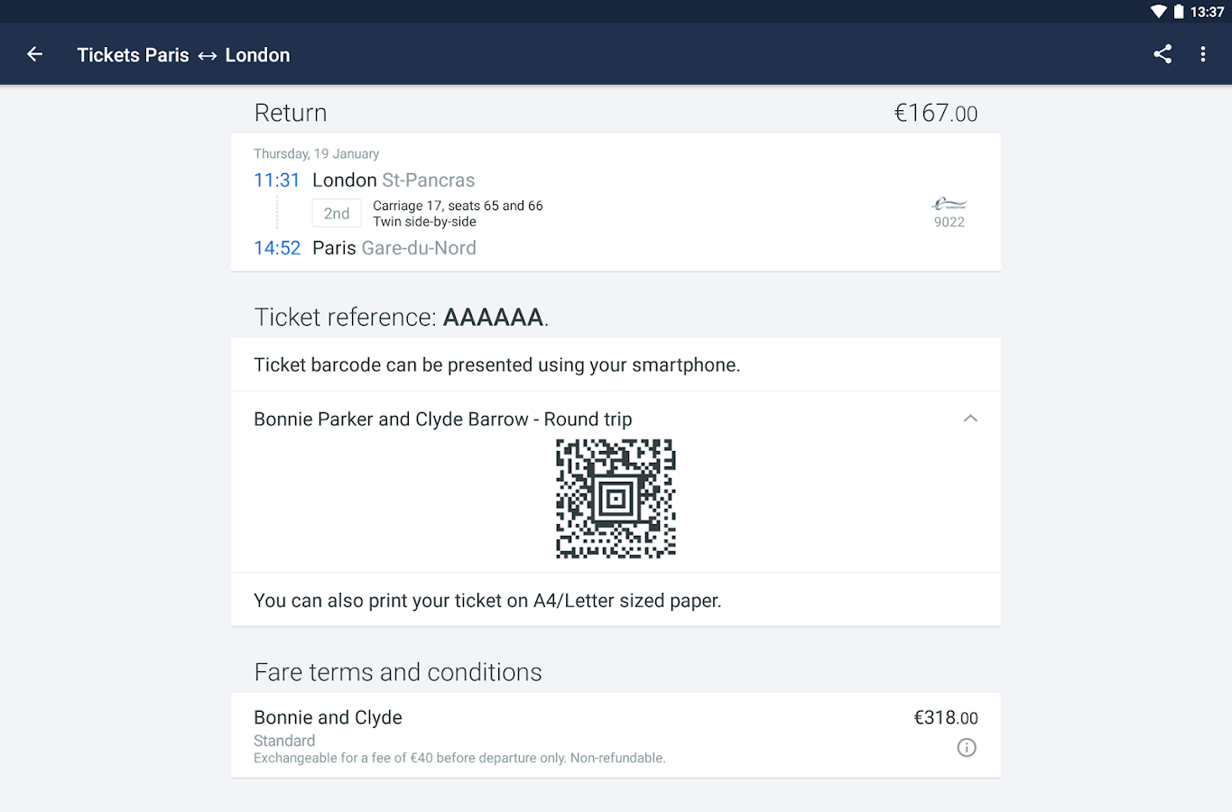 Trainline EU (Captain Train)- screenshot