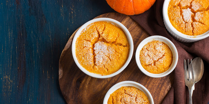 Ginger-Pumpkin Soufflé