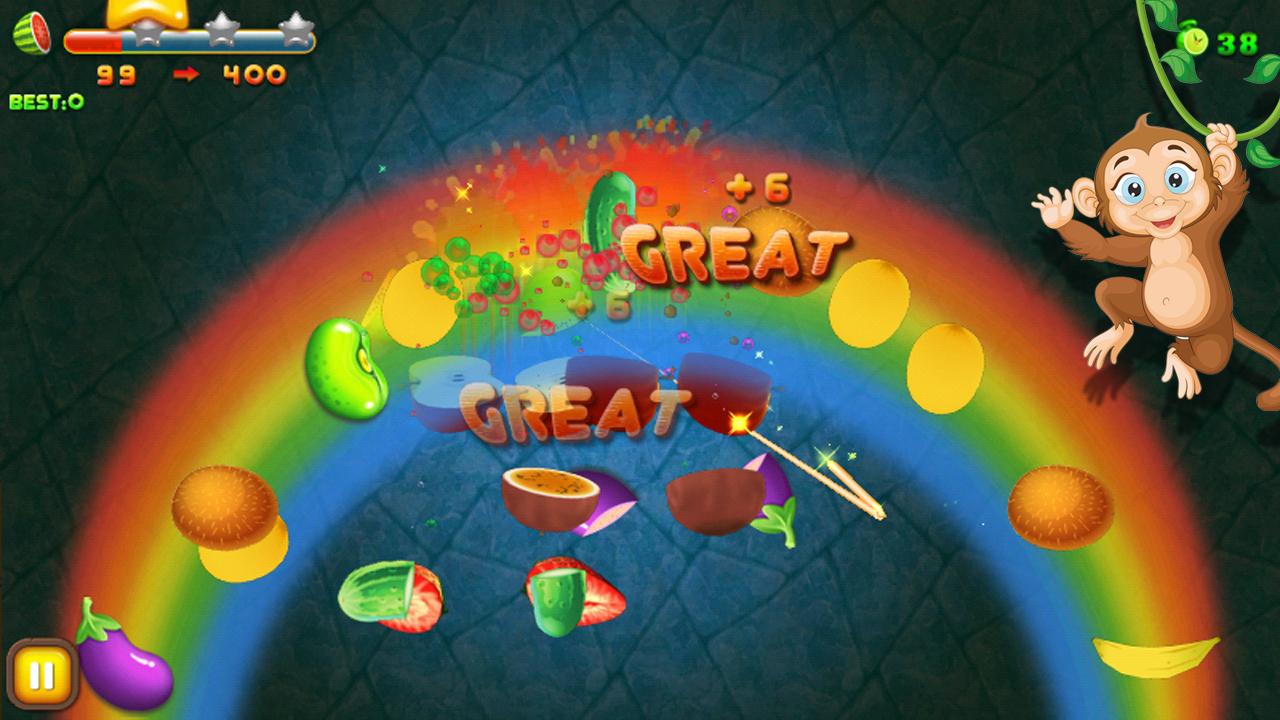 Cut fruits game - Fruit Cut 3d Screenshot