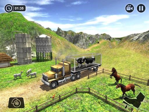 Offroad Farm Animal Truck Driving Game 2018 1.2 screenshots 14