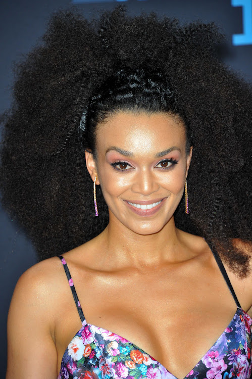 Actress Pearl Thusi pulls off a happy surprise.