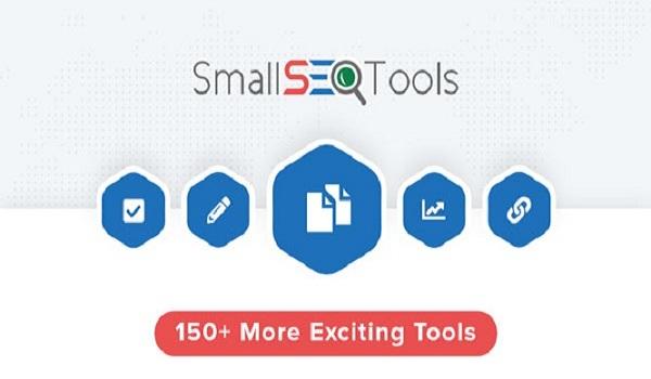 Small SEO Tools là một công cụ theo dõi thứ hạng từ khóa hoàn toàn miễn phí.