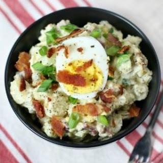 Bacon Egg Potato Salad.
