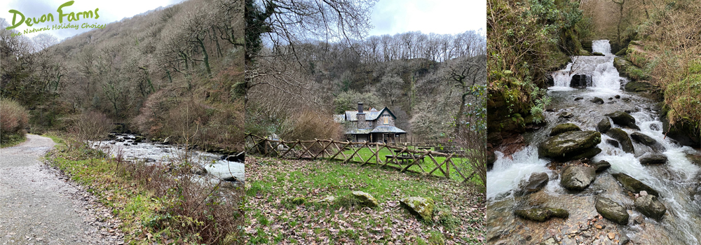Watersmeet is managed by the National Trust and has lots of beautiful walking routes as well as a fantastic cafe.