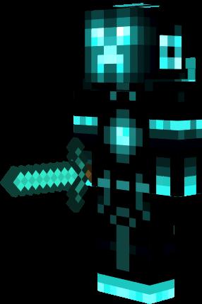 Blue Creeper Nova Skin