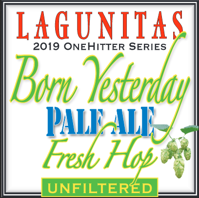 Logo of Lagunitas Born Yesterday (Fresh Hop Pale Ale)