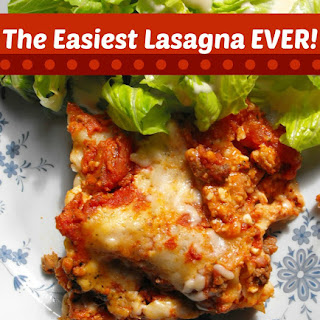The Easiest Lasagna EVER! Recipe