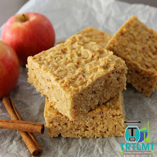 Apple Oat Slice.