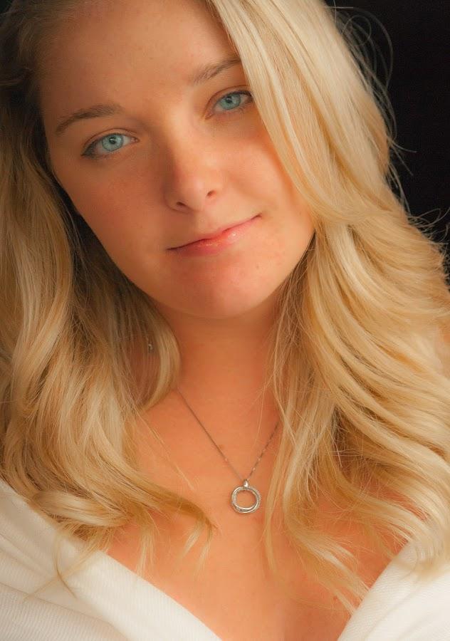 Felicia by Heather Hubbard - People Portraits of Women ( blonde, female, woman, beautiful, blue eyes, pretty,  )