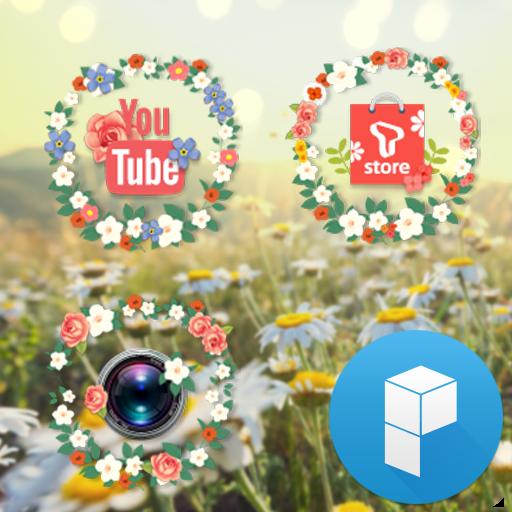 Spring Flowers Launcher Theme 個人化 App LOGO-APP試玩