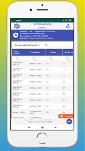 Rail Chart-IRCTC Vacant Seats Apk  Download For Android 4