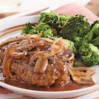 Hamburger Steak with Gravy Recipe