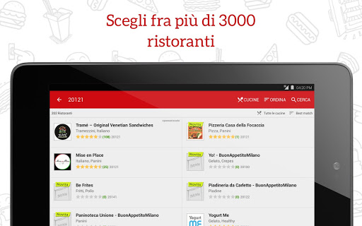 JUST EAT - Pizza a Domicilio screenshot 06