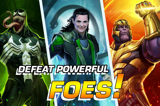 MARVEL Puzzle Quest: Join the Super Hero Battle! 204.531444 screenshots 3