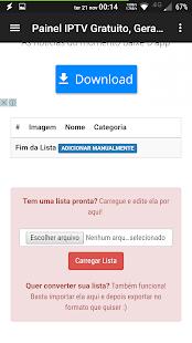 Gerador de Listas IPTV Grátis ? - náhled
