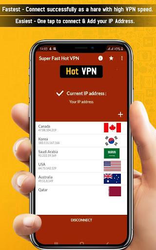 Super Fast Hot VPN-Free Vpn Proxy Master Lite VPN 1.5 screenshots 2