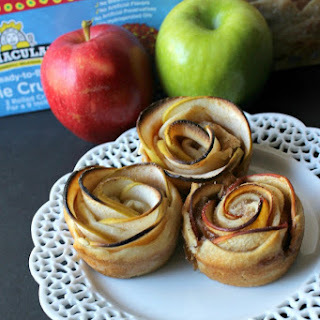 Cinnamon Apple Rose Tarts.