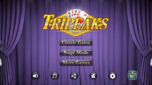 TriPeaks solitaire  screenshots 1