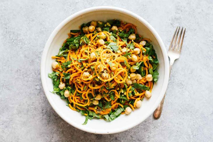 Turmeric Sweet Potato Pasta Salad Recipe