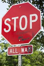 Photo: Stop all War - Austin, Texas
