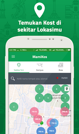 MAMIKOST, kost/room Finder App 2.5.4 screenshots 6
