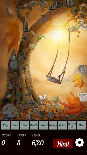 Hidden Object - Autumn Leaves