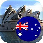Australian States and Oceania Countries - Quiz Icon