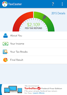 TaxCaster by TurboTax - Free- screenshot thumbnail