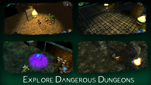 The Dark Book: RPG Offline 2.4.61 screenshots 10