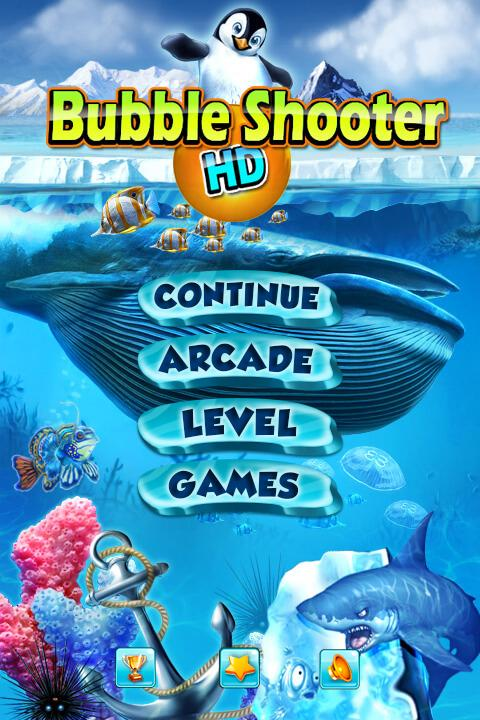 bubble shooter hd games