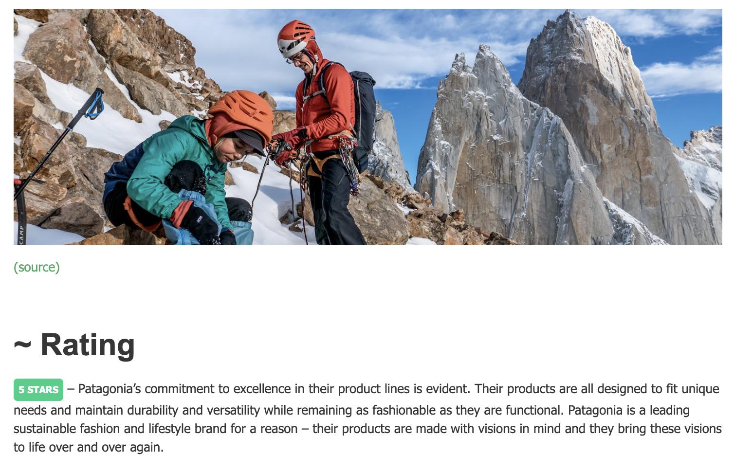 ecopruner patagonia page
