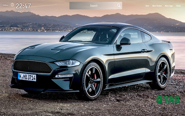 Ford Mustang Wallpapers Ford Mustang New Tab