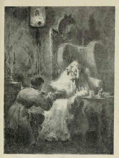 Татьяна Шишмарёва, «Германн в комнате у графини», 20 век