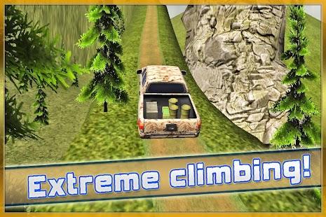 Army Truck Driver Hill Climb screenshot