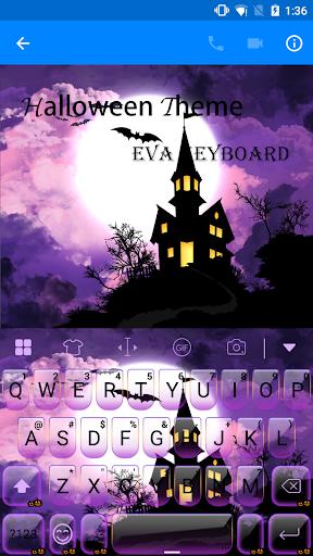 玩免費遊戲APP|下載Halloween Eva Keyboard -Emoji app不用錢|硬是要APP