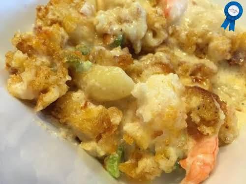 """Decadent Shrimp and Bacon Mac and Cheese """"Yum Yum and MORE YUMMMMMMMMMMMMMM!..."""