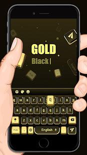 App Golden Black Cheetah Keyboard APK for Windows Phone
