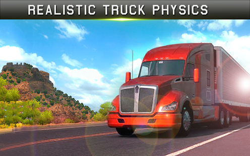 Cargo Truck Driver Simulator Pro 2018 - náhled