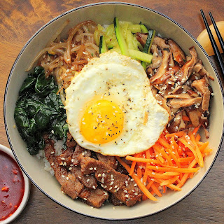 Authentic Bibimbap
