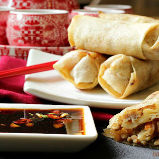 Chinese Pork Spring Rolls Recipes.