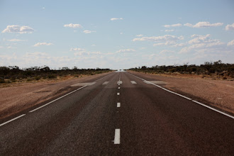 Photo: Year 2 Day 220 - The Road Becomes an Air Strip for the Royal Flying Doctor Service #2