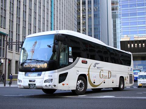 西日本JRバス「グラン中央ドリーム140号」 2053