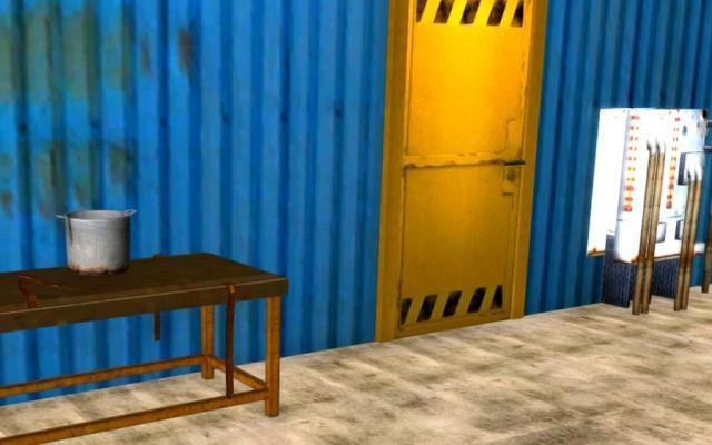 Blue Warehouse Escape Episode