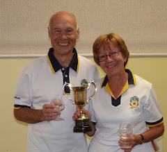 Photo: Brian & Christine Perryman- Married Pairs Champions again.