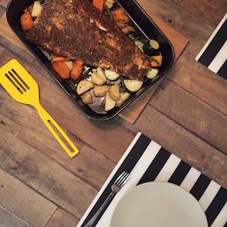 Side Baked Salmon