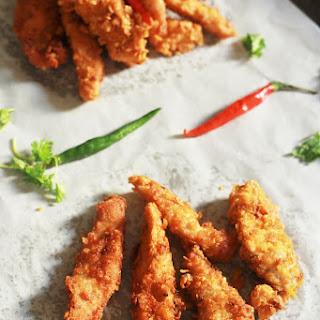 Homemade Crispy & Easy Chicken Strips