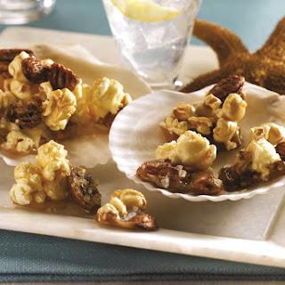 Sea Salt Caramel Popcorn Clusters