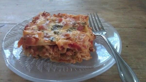 Mexicali Lasagne (healthy!) Recipe