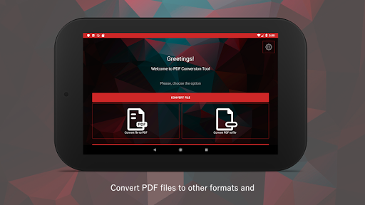PDF Conversion Tool (no ads) screenshot 9