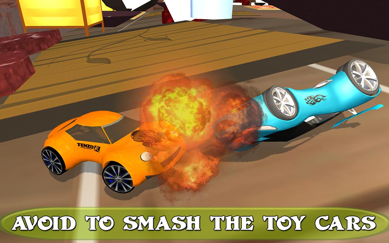 kids toy racing car rally screenshot